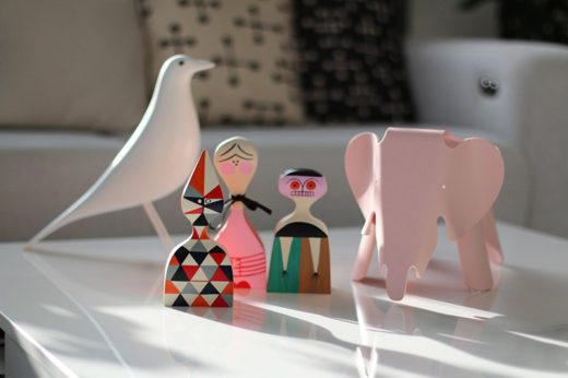 Wooden dolls, vitra, alexander girard